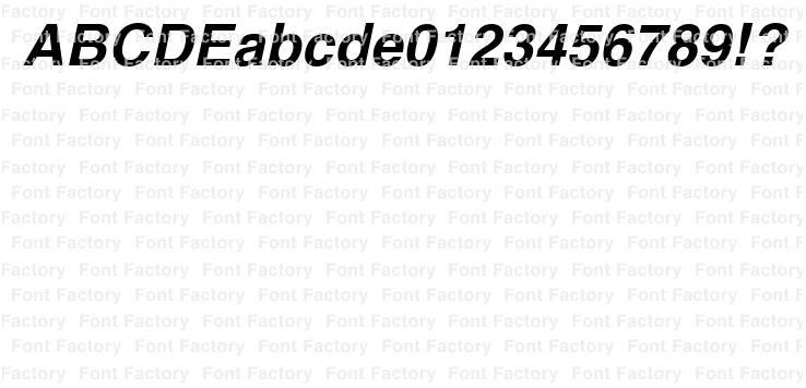 Helvetica(R) Thai Bold Italic | 和文・欧文・デザイン書体の