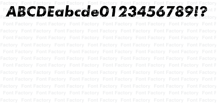 Futura Bold Oblique | 和文・欧文・デザイン書体のダウンロード販売