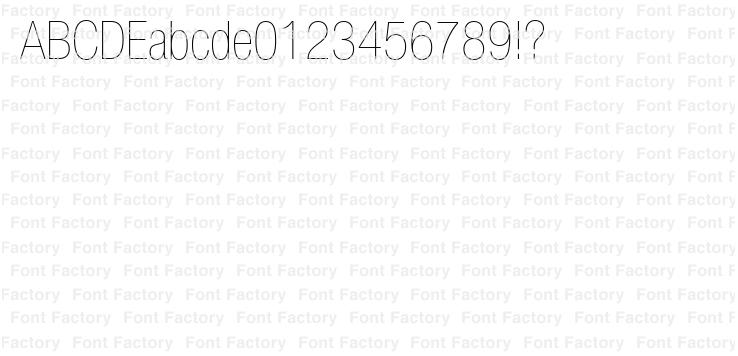 Helvetica Light Condensed