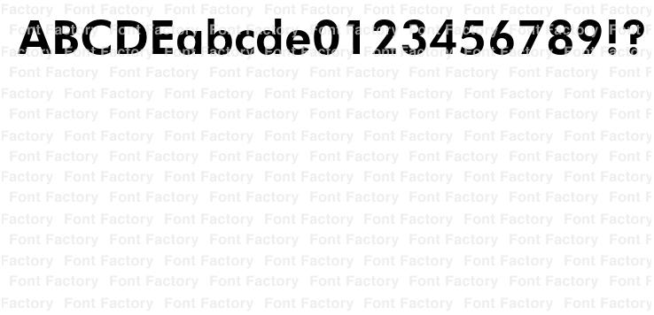 Futura(R) BT Pro Bold   和文・欧文・デザイン書体の