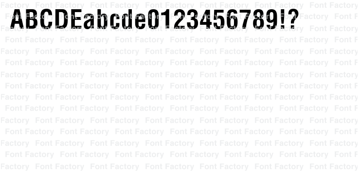 Helvetica(R) Pro Bold Condensed | 和文・欧文・デザイン書体の