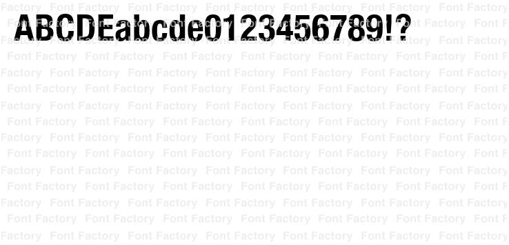 Neue Helvetica(R) Paneuropean 77 Condensed Bold | 和文・欧文