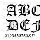 Monotype Old English Text(TM) Std | 和文・欧文・デザイン書体の